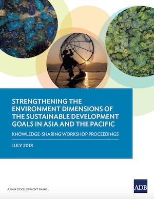 Strengthening the Environment Dimensions of the Sustainable Development Goals in Asia and the Pacific