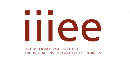 The International Institute for Industrial Environmental Economics (IIIEE)