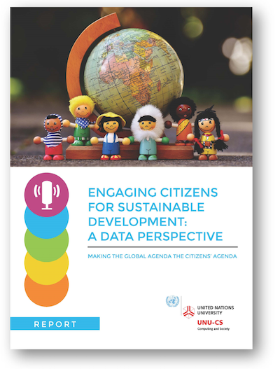 Engaging Citizens for Sustainable Development: A Data Perspective