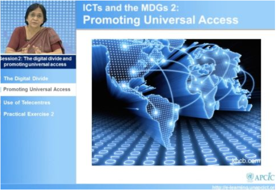 Academy Module: An Overview of ICTS and Sustainable Development (New)