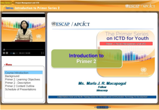 Primer 2: Project Management and ICTD