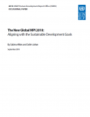 The New Global MPI 2018: Aligning with the Sustainable Development Goals