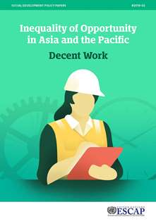 Inequality of Opportunity in Asia and the Pacific: Decent Work