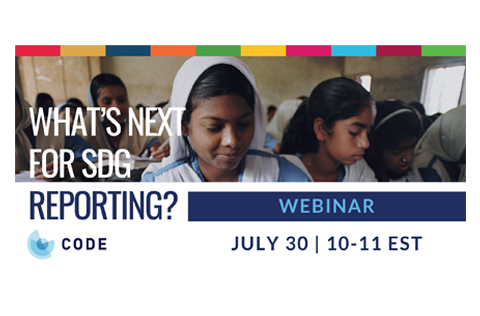 What's Next for SDG Reporting?