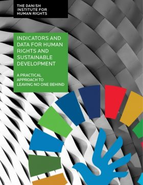 Indicators and data for human rights and sustainable development