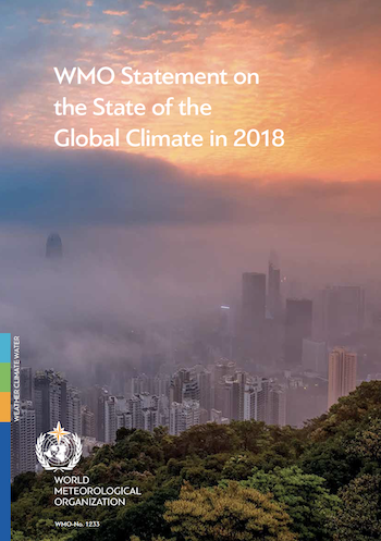 WMO State of the Global Climate in 2018
