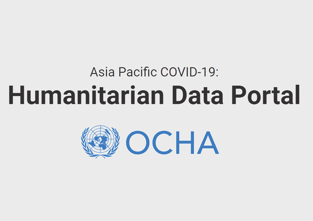 Asia Pacific COVID-19: Humanitarian Data Portal