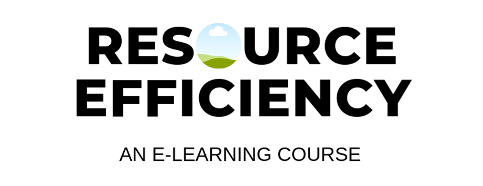 Resource Efficiency Course