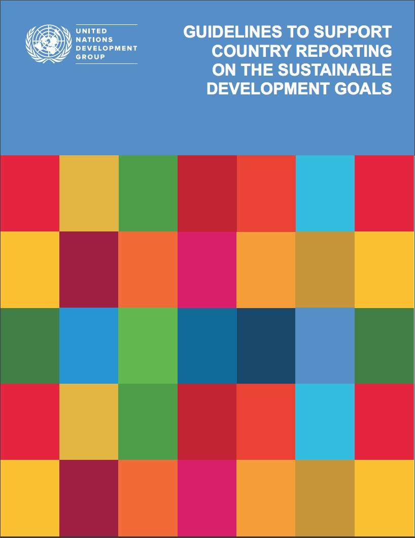guidelines to support countries reporting on SDGs