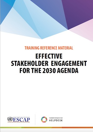 Stakeholder engagement training manual