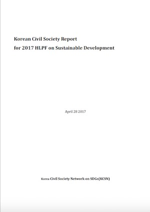 Korea CSO report 2017