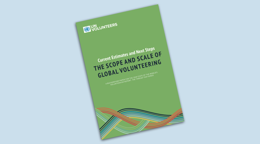the scope and scale of global volunteering