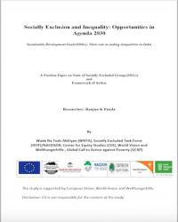 Social Inequality and Exclusion in India: Opportunities in Agenda 2030