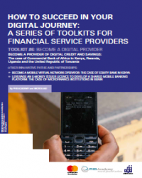 DFS Toolkit 6: Become a Digital Provider