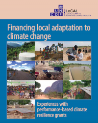 Financing Local Adaptation to Climate Change