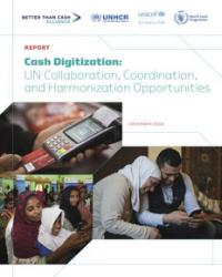 Cash Digitization: UN Collaboration, Coordination, and Harmonization Opportunities