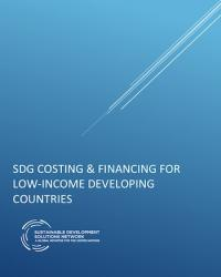 SDG Costing & Financing for Low-Income Developing Countries