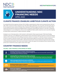 Understanding NDC Financing Needs