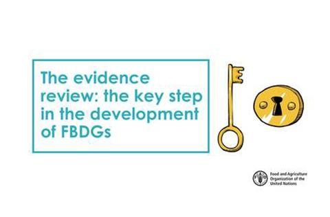 FAO Webinar Recording: The evidence review: the key step in the development of FBDGs