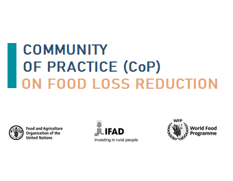 Community of Practice (CoP) on food loss and waste reduction