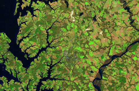 Satellite Imagery of Agriculture Fields