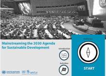Mainstreaming the 2030 Agenda for Sustainable Development