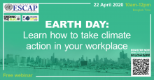 Earth Day: Learn how to take climate action in your workplace!