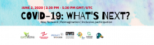 COVID-19: What's Next Banner