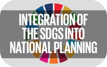 Integration of the SDGs into National Planning