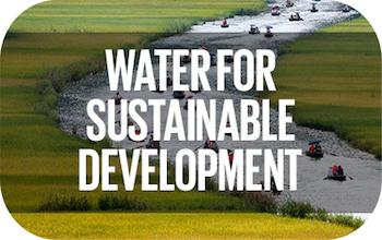 Water for sustainable development