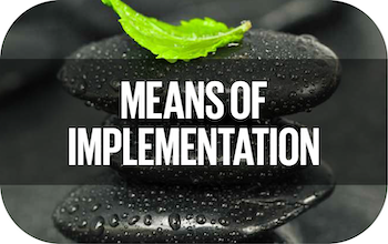 Means of Implementation